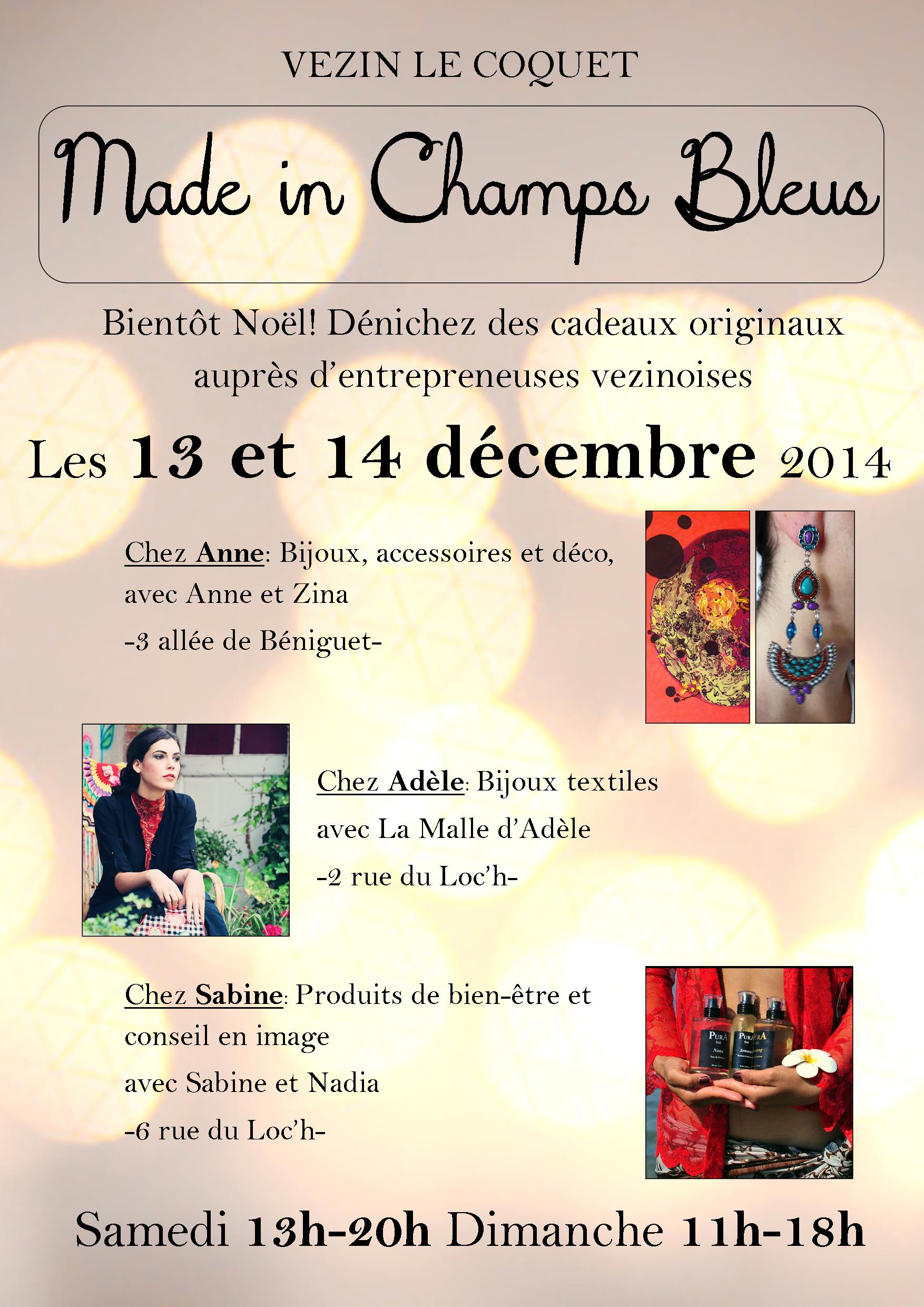 expo Made in champs bleus