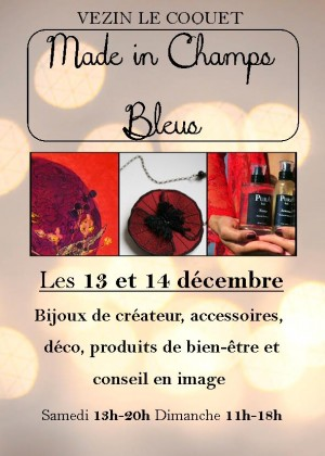 made in champs bleus expo